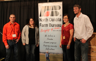 DSU Collegiate Farm Bureau annual meeting delegates