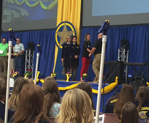 NDFB recognizes FFA winners