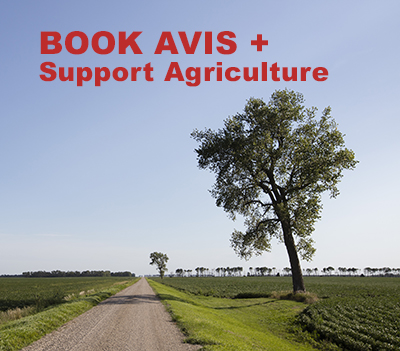 Book with Avis, support ag