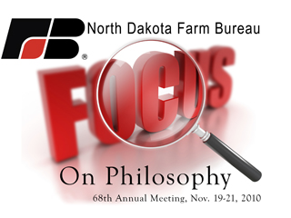 Tweeting from NDFB annual meeting