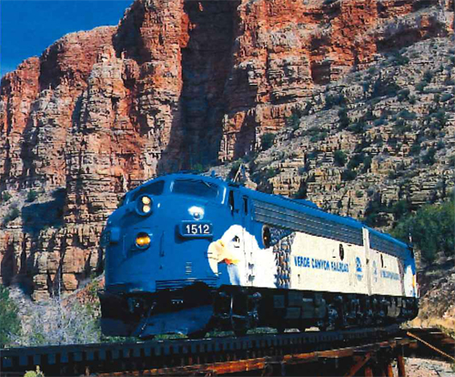 Grand Canyon by train