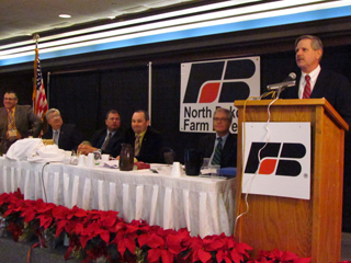 Senator Hoeven addresses annual meeting
