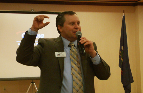 NDFB President addresses Farm and Ranch Conference attendees