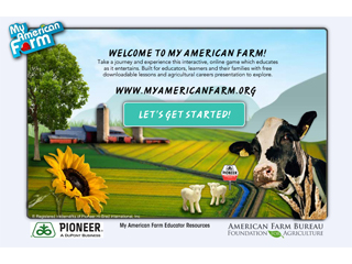 More than a million reached by My American Farm