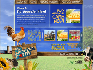 My American Farm site expands with new game