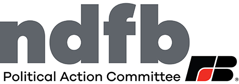 NDFB Political Action Committee logo