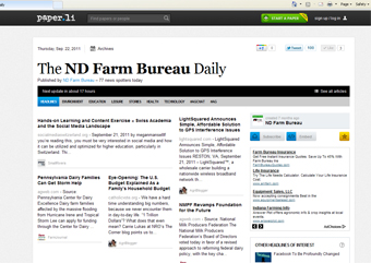 Follow the latest ag news on NDFB