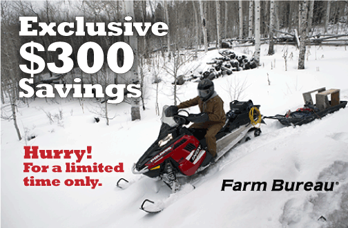 Still time to get your Polaris snowmobile