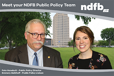 NDFB's Legislative team for the 2019 Legislative Assembly
