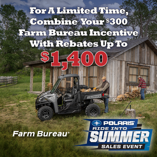 Take advantage of Polaris summer deals!