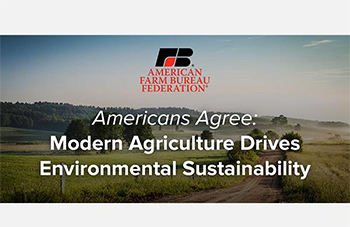 Good news about ag sustainability!