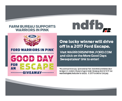 NDFB supports Ford Warriors in Pink