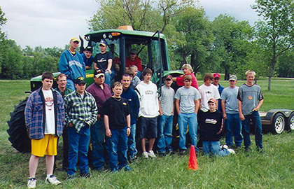 Tractor safety schools set